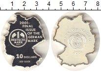 Изображение Монеты Науру 10 долларов 2001 Серебро Proof