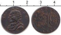 Изображение Монеты Великобритания 1 фартинг 1793 Медь XF Токен.