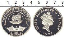 Изображение Монеты Великобритания Гернси 5 долларов 1997 Медно-никель XF