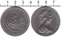Изображение Монеты Остров Мэн 1 крона 1979 Медно-никель UNC 1000-летие Тинвальда