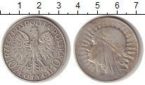 Изображение Монеты Польша 10 злотых 1932 Серебро XF