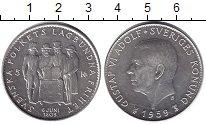 Изображение Монеты Швеция 5 крон 1956 Серебро XF