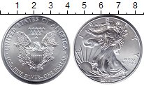 Изображение Монеты США 1 доллар 2015 Серебро UNC