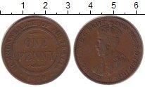 Изображение Монеты Австралия 1 пенни 1920 Неопределено XF Георг V