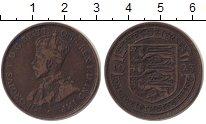 Изображение Монеты Остров Джерси 1/12 шиллинга 1923 Медь VF