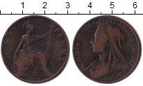 Изображение Монеты Великобритания 1 пенни 1898 Медь VF