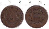 Изображение Монеты США 2 цента 1864 Медь VF
