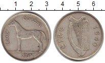 Изображение Монеты Ирландия 1/2 кроны 1940 Серебро XF
