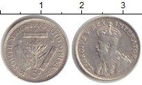 Изображение Монеты ЮАР 3 пенса 1932 Серебро VF