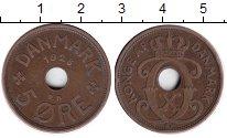 Изображение Монеты Дания 5 эре 1928 Медь XF