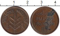 Изображение Монеты Палестина 1 милс 1927 Медь VF