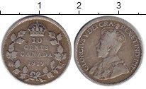 Изображение Монеты Канада 10 центов 1919 Серебро VF Георг V