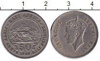 Изображение Монеты Западная Африка 50 центов 1948 Медно-никель XF