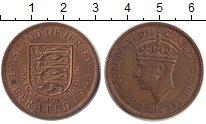 Изображение Монеты Остров Джерси 1/12 шиллинга 1945 Бронза XF