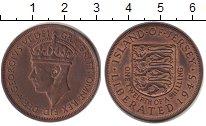 Изображение Монеты Остров Джерси 1/12 шиллинга 1945 Бронза UNC-