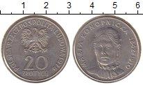 Изображение Монеты Польша 20 злотых 1978 Медно-никель UNC