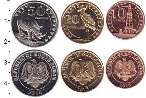 Изображение Наборы монет Судан Южный Судан 2015 Неопределено UNC Республика Южный Суд