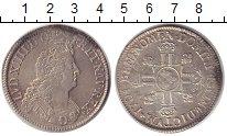 Изображение Монеты Франция 1 экю 1704 Серебро XF