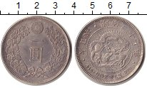 Изображение Монеты Япония 1 йена 1904 Серебро UNC- Муцухито