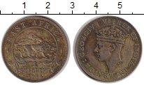 Изображение Монеты Восточная Африка 1 шиллинг 1944 Медно-никель XF Георг V.