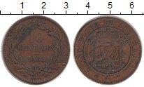 Изображение Монеты Люксембург 10 сентим 1860 Медь XF