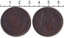 Изображение Монеты Остров Джерси 1/12 шиллинга 1894 Медь VF