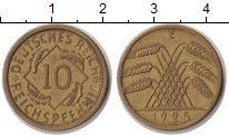 Изображение Монеты Веймарская республика Веймарская республика 1925 Медь VF