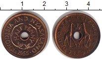 Изображение Монеты Родезия 1/2 пенни 1955 Бронза Proof- Елизавета II