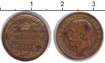 Изображение Монеты Великобритания 1/3 фартинга 1913 Медь UNC- Георг V.