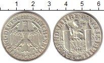 Изображение Монеты Веймарская республика 3 марки 1928 Серебро UNC