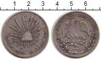 Изображение Монеты Мексика 4 реала 1856 Серебро