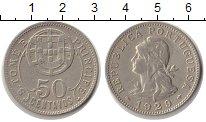 Изображение Монеты Сан-Томе и Принсипи 50 сентаво 1929 Медно-никель XF Португальская колони