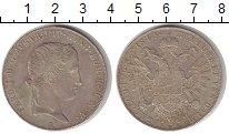 Изображение Монеты Австрия 1 талер 1844 Серебро XF+ Император Фердинанд
