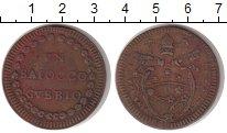 Изображение Монеты Ватикан 1 байоччи 1782 Медь VF