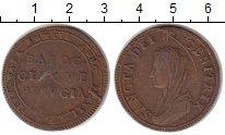 Изображение Монеты Ватикан 5 байоччи 1797 Медь XF-