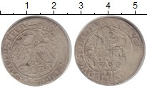 Изображение Монеты Литва 1 грош 1536 Серебро VF Сигизмунд I