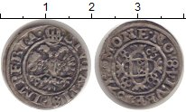 Изображение Монеты Любек 1 шиллинг 1671 Серебро VF