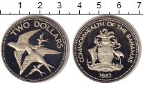 Изображение Монеты Багамские острова 2 доллара 1982 Медно-никель UNC-