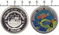 Изображение Монеты Либерия 5 долларов 1997 Серебро Proof