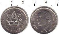 Изображение Монеты Марокко 1 дирхам 1965 Никель UNC