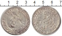 Изображение Монеты Австрия 1/2 талера 1566 Серебро XF- Фердинанд