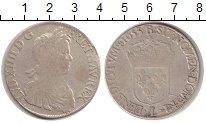 Изображение Монеты Франция 1 экю 1633 Серебро VF Людовик XIV (L)