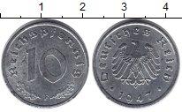 Изображение Монеты Третий Рейх 10 пфеннигов 1947 Цинк XF