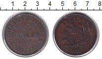 Изображение Монеты Австралия 1 пенни 1858 Медь VF