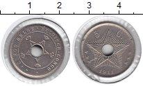 Изображение Монеты Бельгия Бельгийское Конго 5 сентим 1911 Медно-никель XF