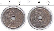 Изображение Монеты Бельгия 10 сентим 1929 Медно-никель VF