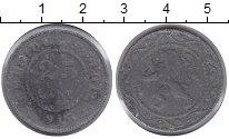 Изображение Монеты Бельгия 25 сентим 1916 Цинк VF Немецкая оккупация