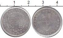 Изображение Монеты Британская Индия 1/8 доллара 1822 Серебро VF Георг IV
