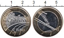 Изображение Мелочь Финляндия 5 евро 2016 Биметалл