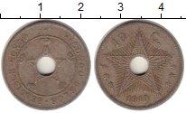Изображение Монеты Бельгийское Конго 10 сантимов 1919 Медно-никель XF
